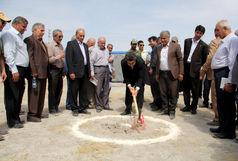پروژه احداث سالن جدید مسافری پایانه مرزی سرو کلنگ زنی شد