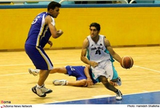 پیروزی قطران کاوه گرگان بر حریف مشهدی در لیگ دسته اول بسکتبال کشور