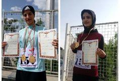 درخشش دختران دونده کردستانی در رقابت های قهرمانی جوانان کشور
