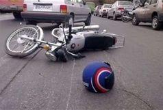 تصادف 70 موتورسیکلت سوار در 24 ساعت گذشته