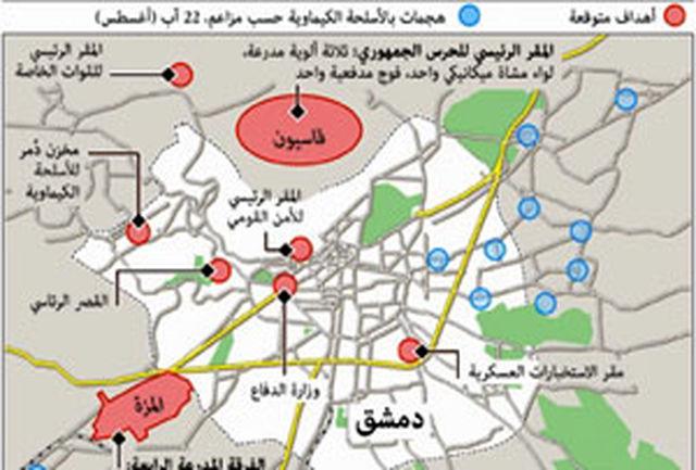 افشای نقشه نظامی غرب در حمله احتمالی به سوریه