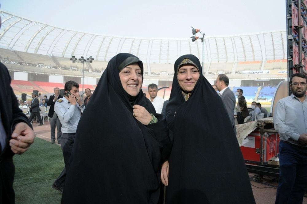 مراسم افتتاح ورزشگاه نقش جهان اصفهان