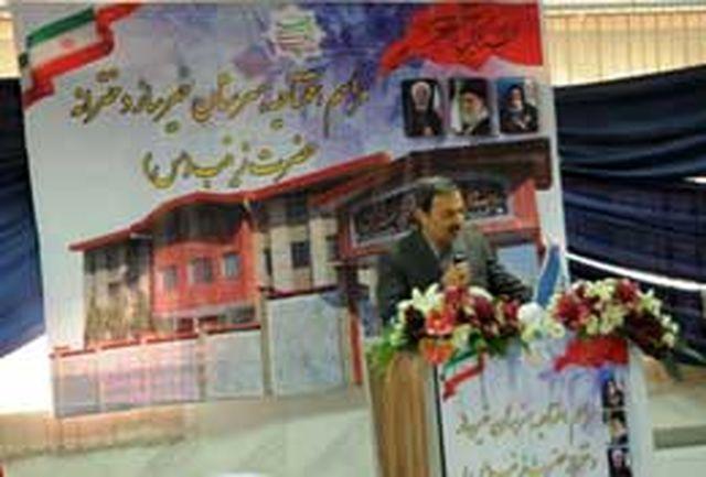 افتتاح بزرگترین مدرسه خیرساز البرز در کمالشهر