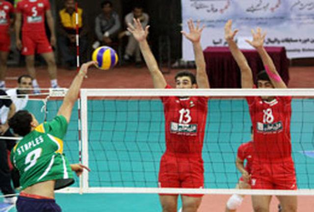 والیبالیستهای جوان ایران گام نخست را محکم برداشتند