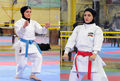 مسابقه کاتای انفرادی بزرگسالان بانوان به 17 خرداد موکول شد