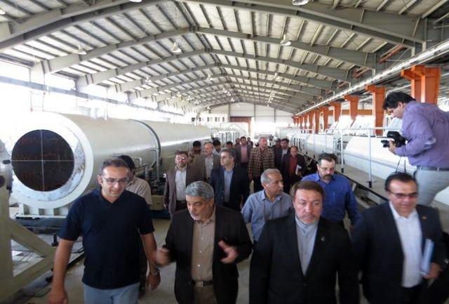 شهرک صنعتی چرمشهر با 145 واحد تولیدی چرم  بزرگترین منطقه صنعتی چرم کشور است