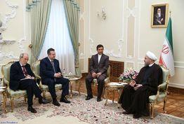خاورمیانه و بالکان باید به مناطق صلح و آرامش تبدیل شوند/ با هر گونه افراط و خشونت مخالفیم