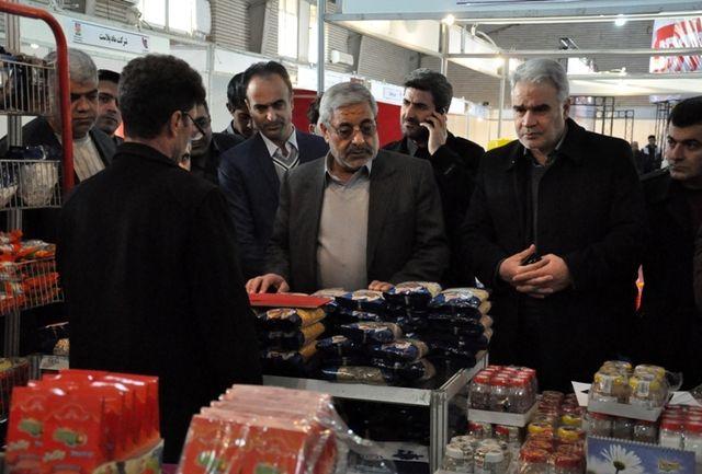 سومین نمایشگاه توانمندی های صنایع کوچک و متوسط آذربایجان غربی گشایش یافت