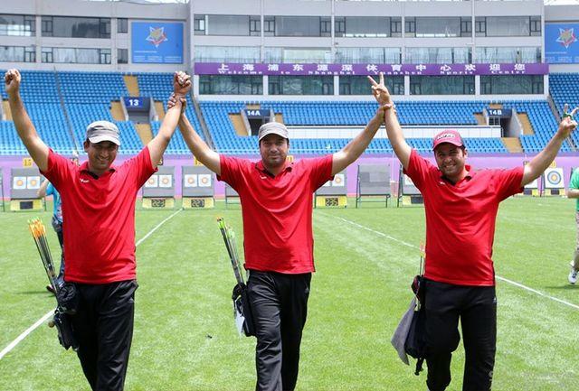 نایب قهرمانی تیراندازی جهان به ایران رسید