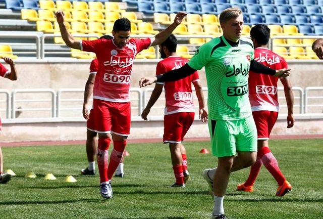 پرسپولیس دوشنبه در ورزشگاه شهید کاظمی