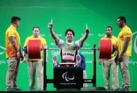 مدال طلای مجید فرزین در وزنهبرداری -  پارالمپیک ریو ۲۰۱۶