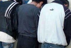 دستگیری عاملان سرقت مسلحانه در ایرانشهر