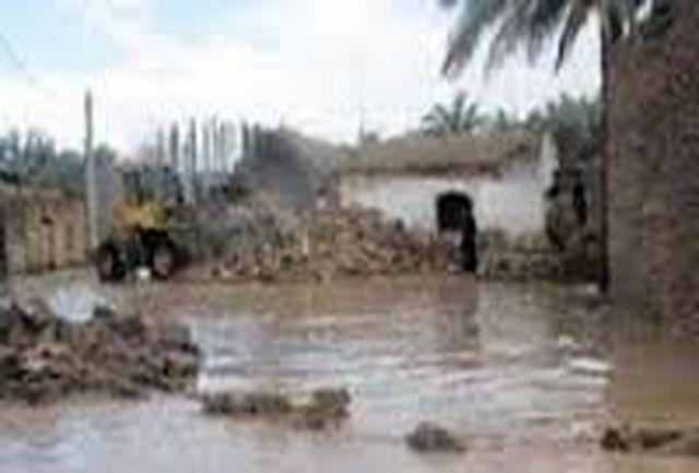 سیل در شهرستان فاریاب خساراتی را وارد کرد