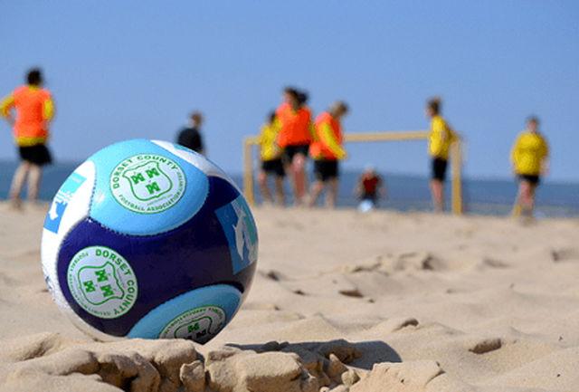پیگیری تمرین نوبت عصر تیم های ملی فوتبال ساحلی