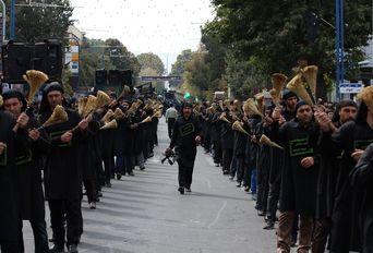 عزاداری تاسوعای حسینی در آذربایجان غربی