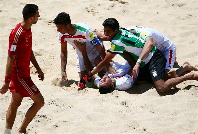 آخرین تمرین تیم ملی فوتبال ساحلی در بوشهر برگزار شد