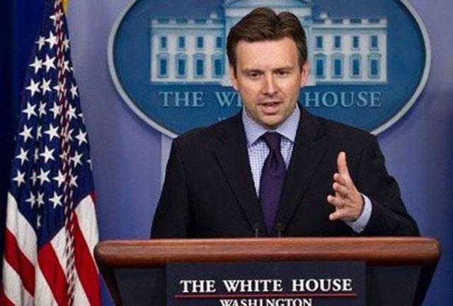 سخنگوی کاخ سفید: اوباما امکان وتو  نداشت/عدم امضا پیامی به کنگره بود
