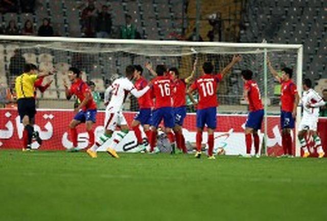 اتهام کره تایمز به تیم ملی ایران
