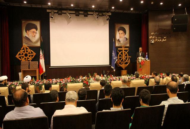 بندر شهید رجایی میزبان گردهمایی فرماندهان بسیج و خانواده شهدا