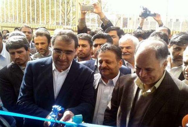 افتتاح 2 طرح بهداشتی و درمانی در شهرستان خاش