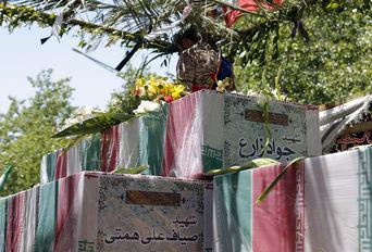 تشییع پیکر شهدای حمله تروریستی در تهران -2