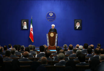 دکتر روحانی در دیدار دست اندرکاران اجرای طرح سرشماری عمومی نفوس و مسکن95