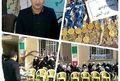 خالوندی مدال های خود را به مدارس استثنایی اهدا کرد