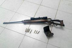 دستگیری شکارچی سابقه دار در شهرستان شازند