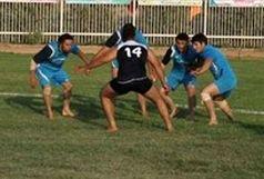 حضور داور تربت جامی در مسابقات کبدی قهرمانی آسیا
