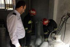 انفجار کپسول گاز در لاهیجان
