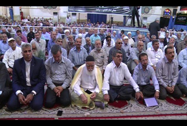 برگزاری مراسم عبادی - سیاسی نماز جمعه در رشت