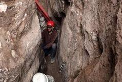 کشف تونلی بزرگ در معدن نمک چهرآباد زنجان