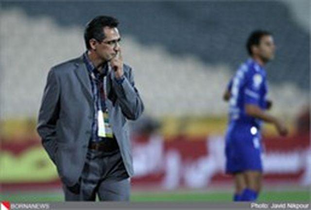 صالح: بازی با سپاهان فینال نیست/ بازیکنان ما در روزهای بزرگ خود را نشان میدهند