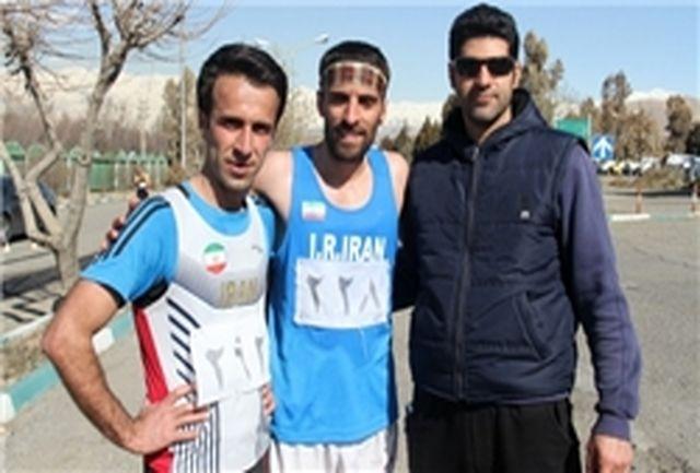 پایان 20 کیلومتر پیاده روی با قهرمانی همدان