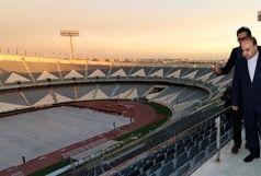 سلطانیفر: برای ساخت ورزشگاهی مثل آزادی 500 میلیارد اعتبار نیاز داریم