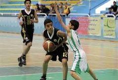 استقبال گسترده از مسابقات بسکتبال رده های پایه استان