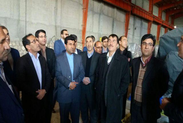 بازدید استاندار از چند واحد تولیدی شهرک صنعتی سرابله