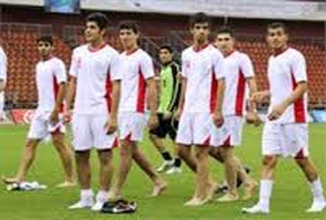 کنعانی در تمرینات تیم امید