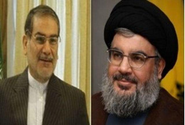 تشکر سید حسن نصرالله از ایران در جریان مبارزه با تروریسم