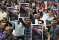 جشن مردمی پیروزی دکتر روحانی در قزوین برگزار شد