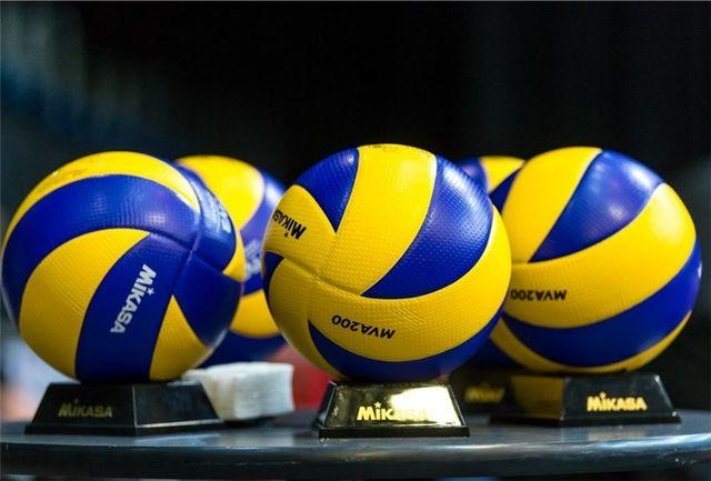 پایان رقابت تحسین برانگیز 155 تیم والیبال نونهال