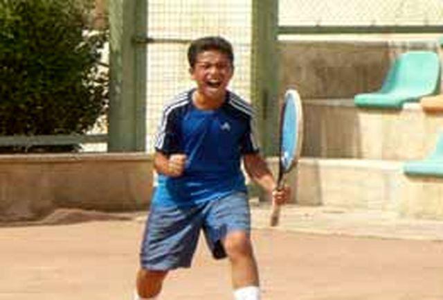 نونهال البرزی به تیم ملی تنیس دعوت شد