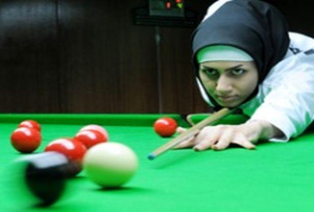 قضاوت داوران زن ایرانی در مسابقات اسنوكر قهرمانی آسیا