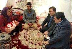 بازدید آخوندی از مناطق زلزله زده