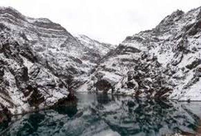 کاهش 43 درصدی حجم آب معادل برف کشور
