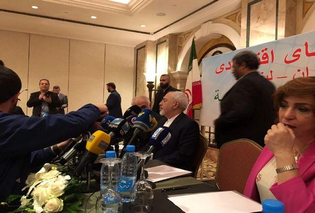 برگزاری نشست تجاری با حضور ظریف و تجار لبنانی