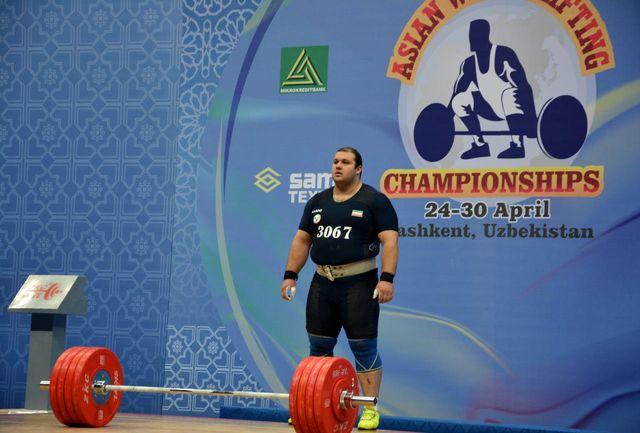 مولایی: سبکی وزنه ها را احساس می کردم/ این مدال مقدمه خوبی برای موفقیت در المپیک است