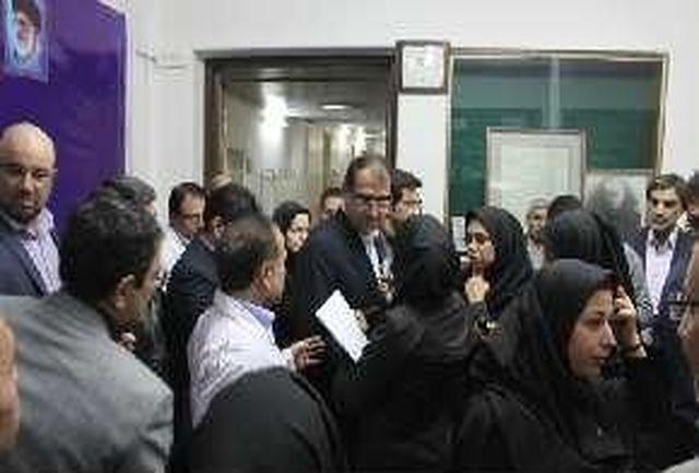 وزیر بهداشت: پرسنل بیمارستان در تهیه فیلم های بیماران مقصر نیستند