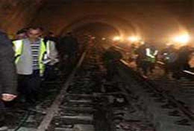 ریزش متروی مشهد یک کشته بر جای گذاشت
