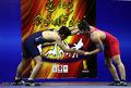 قهرمانی دانیال شریعتی در رقابت های انتخابی تیم های ملی کشتی آزاد جوانان کشور